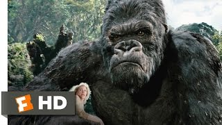 getlinkyoutube.com-King Kong (3/10) Movie CLIP - Kong Battles the T-Rexes (2005) HD