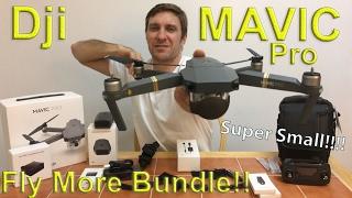 getlinkyoutube.com-Dji Mavic Pro Fly More Bundle Unboxing For You