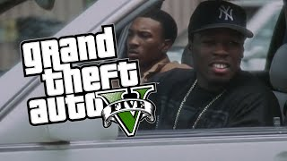 getlinkyoutube.com-50 Cent - Getting a S500 (GTA V Machinima)