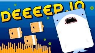 getlinkyoutube.com-THE LEGEND OF FEEEESH - Deeeep.io Gameplay