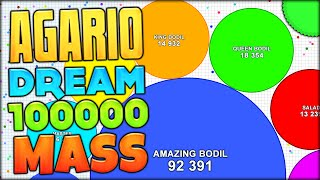 getlinkyoutube.com-WE HAVE ACHIEVED THE AGARIO DREAM! 200,000K+ MASS ON AGAR.IO HUGE GAMEMODE (Agar.io #94)