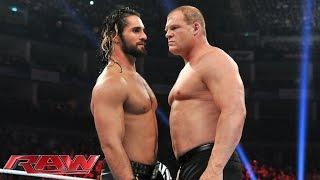 getlinkyoutube.com-Kane vs. Seth Rollins: Raw, April 13, 2015