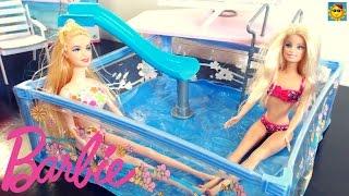 getlinkyoutube.com-Juegos de Barbie - La Barbie en la Piscina