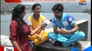getlinkyoutube.com-Zee24Taas: SpotLight : Starchi Thashan, marathi box cricket league