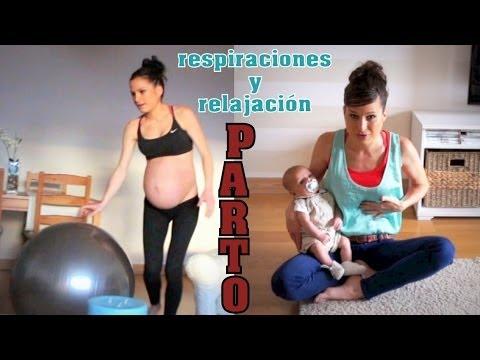 Respiraciones parto natural - control del dolor y relajación