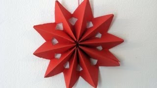 getlinkyoutube.com-Manualidades para decorar - Estrella - Manualidades para todos