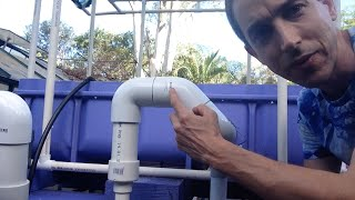 getlinkyoutube.com-Aquaponics U Siphon in IBC Grow Bed