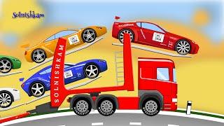 getlinkyoutube.com-Машинки. Автовоз. Развивающий мультик