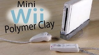 getlinkyoutube.com-Miniature Wii - Polymer Clay Tutorial