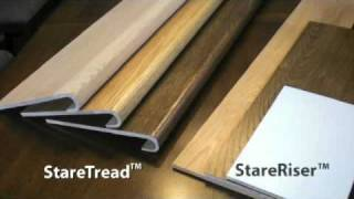 getlinkyoutube.com-How to install wood on stairs - Starecasing Product Overview