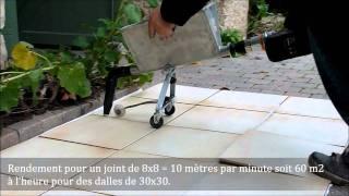 Joints Sols Et Margelles Avec Le Combi Crépi Joint   YouTube
