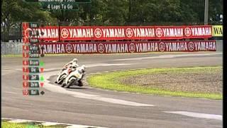 getlinkyoutube.com-Round 2 - Kawasaki 150cc - 2011 PETRONAS Asia Racing Championship