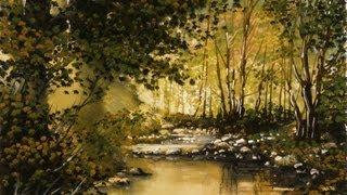 getlinkyoutube.com-Golden Pond - Time Lapse Painting