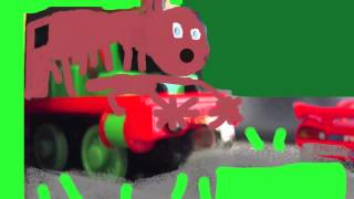 getlinkyoutube.com-Percy the Train's Stop Motion Chocolate Factory Accident Video