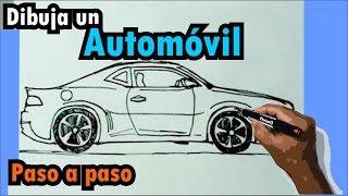 getlinkyoutube.com-Aprende a dibujar vehículos paso a paso 1/6 - Auto deportivo