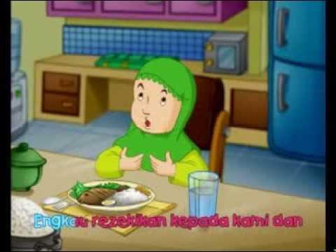 belajar berdoa  untuk anak muslim