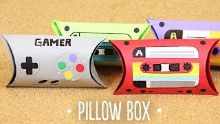 getlinkyoutube.com-Pillow box / mini cajita geek - detalle express San Valentín