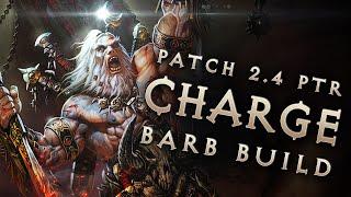 getlinkyoutube.com-2.4 Barbarian Raekor King Charge Barb Build - Diablo 3 Reaper of Souls PTR