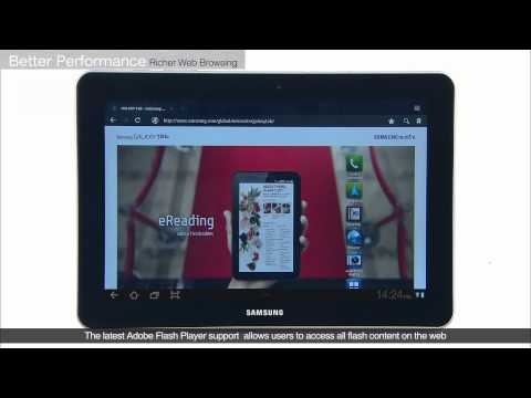 Samsung Galaxy Tab 10.1 Official Demo and Walkthrough