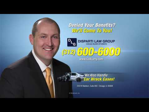 Can't Work? Call the Disparti Law Group Today to Get Your Disability!