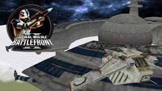 getlinkyoutube.com-Star Wars Battlefront II Mods (PC) HD: Space to Ground - Alderaan: Orbital Strike
