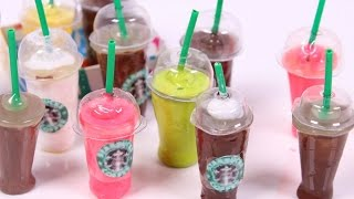getlinkyoutube.com-DIY Mini Starbucks WITHOUT polymer clay