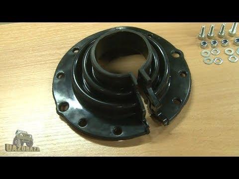 UAZOBAZA 97 Ещё одна интересная идея для УАЗа: пыльники поворотных кулаков