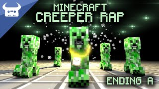 getlinkyoutube.com-MINECRAFT CREEPER RAP | Dan Bull | ENDING A