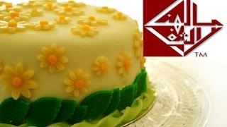 getlinkyoutube.com-طريقة عمل عجين السكر والتزيين به  How to Make Sugar Paste