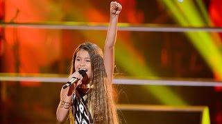 getlinkyoutube.com-Alexa sings Girl On Fire | The Voice Kids Australia 2014