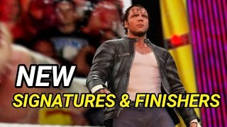getlinkyoutube.com-WWE 2K16 DEAN AMBROSE SIGNATURES & FINISHERS!  -  Ps4 & Xbox One