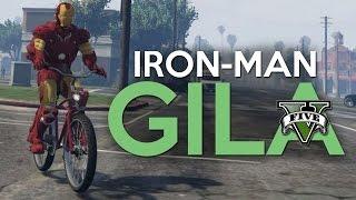 GTA 5 Mod - IRON MAN !! - Momen Lucu GTA