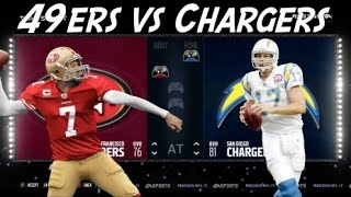 getlinkyoutube.com-49ERS VS CHARGERES! PRESEASON MATCHUP! MADDEN 17