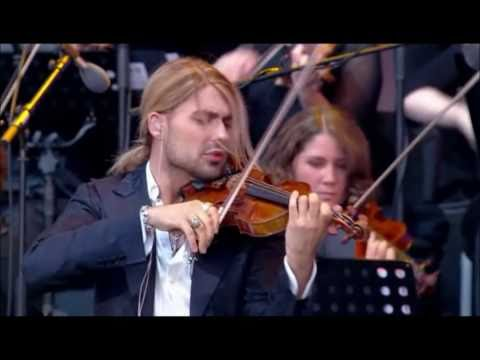 "David Garrett - ""He's a Pirate"" Rock Symphonies Live"
