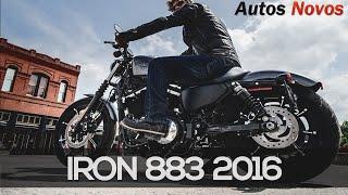 getlinkyoutube.com-Iron 883 2016 - Harley Davidson