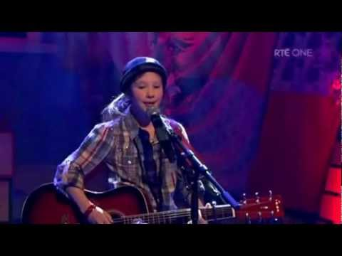 Incredible Nine Year Old Singer/Songwriter, Ashley Tubridy