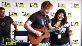 getlinkyoutube.com-Singing Lego House with Ed Sheeran