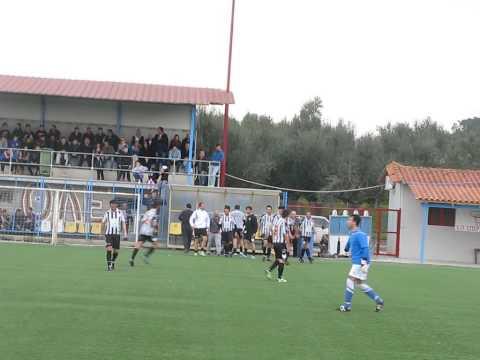 ΠΑΝΘΟΥΡΙΑΚΟΣ - ΠΑΠΑΦΛΕΣΣΑΣ ΑΜΦΕΙΑΣ (5) goal 0-1