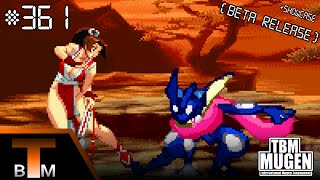 getlinkyoutube.com-TBM Mugen Match #361 - Greninja (me) vs. Mai Shiranui (Arcade) (+Showcase)