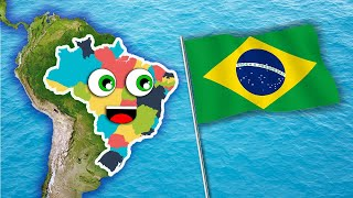 getlinkyoutube.com-Brazil 26 States Song/Learn About Brazil