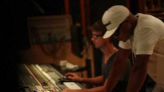Ryan Leslie & Red Cafe - Fly Together en Studio