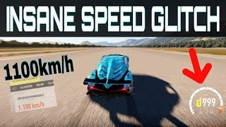 getlinkyoutube.com-Driving over 1100km/h !!! | Forza Horizon 2 | Insane NEW Topspeed Glitch!!
