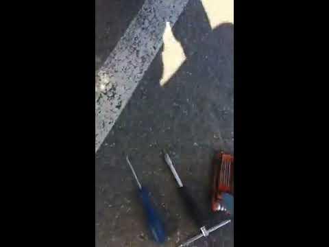 Снятие обшивки задней двери вольво s60 (1 часть)