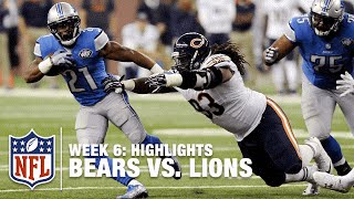getlinkyoutube.com-Bears vs. Lions | Week 6 Highlights | NFL