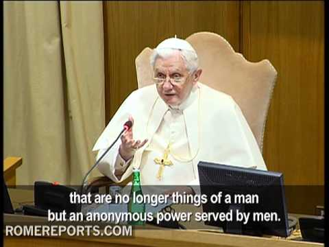 The Pope warns of 