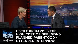 getlinkyoutube.com-The Daily Show - Cecile Richards Extended Interview