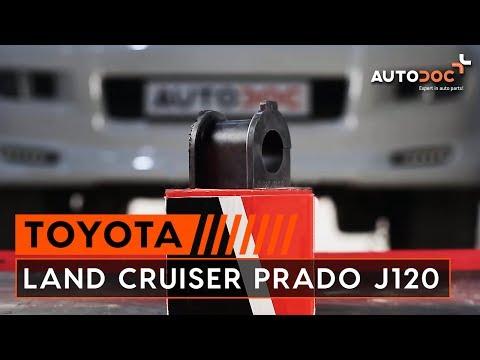 Как да сменим втулка на преден стабилизатор наTOYOTA LAND CRUISER PRADO J120 ИНСТРУКЦИЯ   AUTODOC