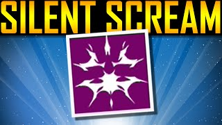Destiny - HOW TO GET THE SILENT SCREAM EMBLEM!