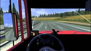 getlinkyoutube.com-Euro Truck Simulator 2 - Dando uma banda de Mercedes 1620 rebaixado + dj wagner