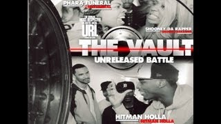 THE VAULT: HitMan Holla vs Pharra Funeral & Shooney The Rapper